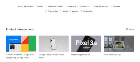Google Store Helpful Videos 2