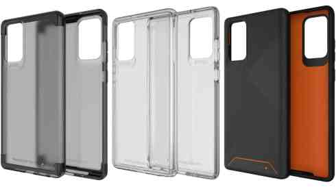 Gear4 Galaxy Note 20 5G and Ultra 5G cases