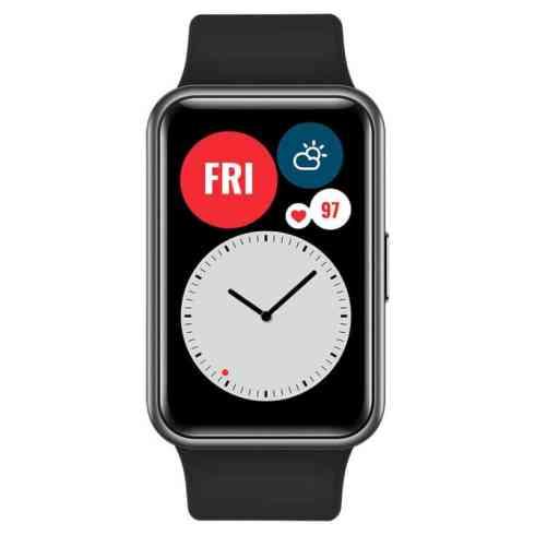 Huawei Watch Fit Graphite Black 5
