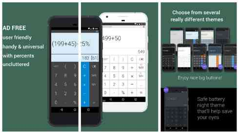 Mobi Calculator app grid