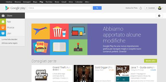 Google PLay web