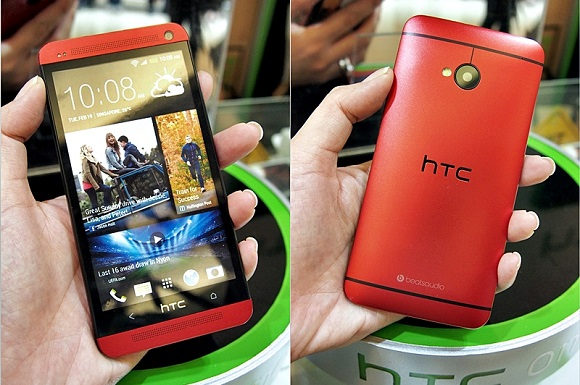 HTC-One-Glamour-Red