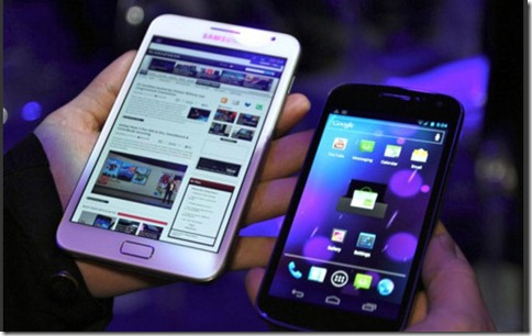 Samsung-alaxy-Nexus-vs-Galaxy-Note-Video