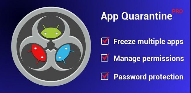 App Quarantine