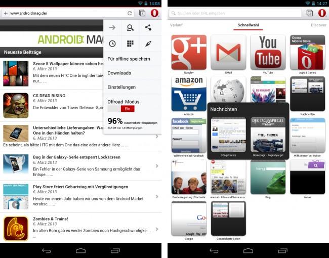 Die neue Version des Web-Browsers Opera verwendet andere HTML-Darstellungsroutinen als bisher – und kommt mit einer moderneren Bedienungsoberfläche daher.