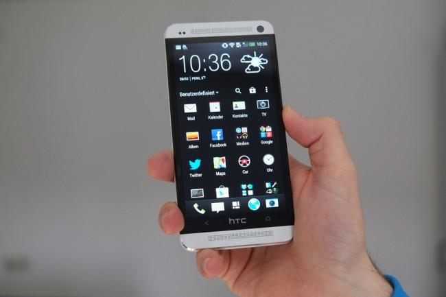 Mit dem One soll es bei HTC wieder aufwärts gehen.
