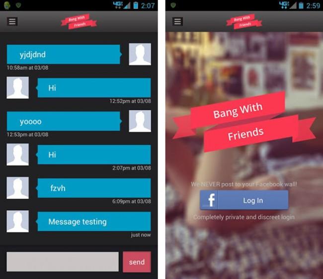 Zur Erleichterung der ersten Kontaktaufnahme enthält die Applikation zudem einen kleinen Chatdienst.