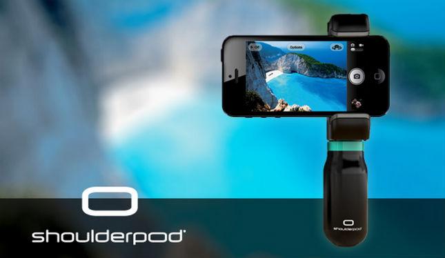 Mit dem Shoulderpod werden tolle Smartphoneaufnahmen zum Kinderspiel. (Grafik: Indiegogo)