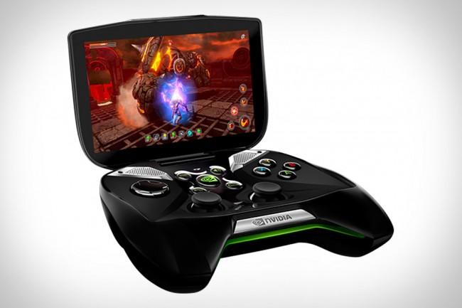 Innovativ: Mit der Shield, einer Mischung aus XBOX Controller samt angeheftetem Tablet, setzt NVIDIA längst auf Android als Spieleplattform. Foto: Nvidia.
