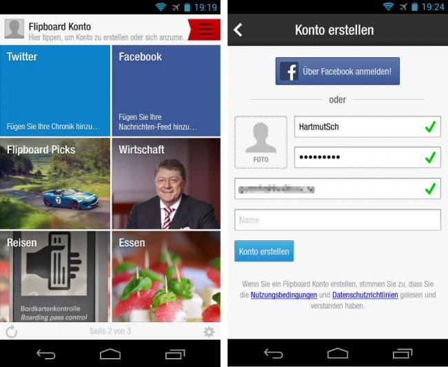 Facebook's Paper soll Flipboard sehr ähnlich sein.