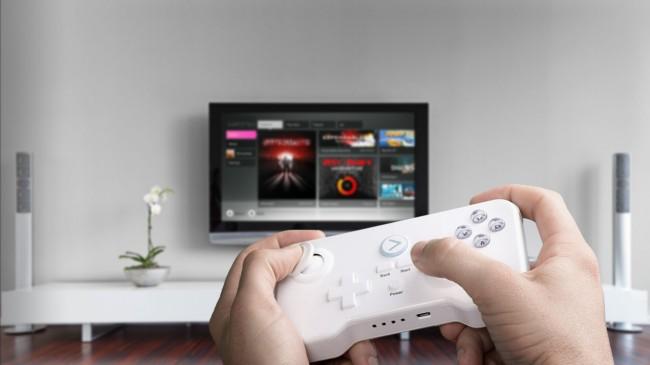 Android Spiele lassen sich per GameStick direkt über den großen TV-Bildschirm spielen. Foto: Gamestick.