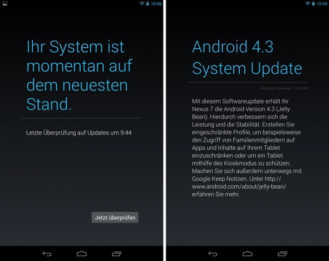 anleitung android 4 3 update auf nexus ger ten erzwingen. Black Bedroom Furniture Sets. Home Design Ideas