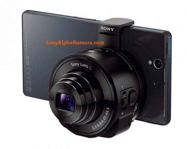 Sony baut zwei verschiedene Kamera-Aufsätze für alle gängigen Smartphones. (BQ: sonyalpharumors.com)