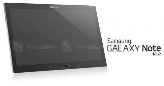 Laut MovePlayer zeigt dieses Bild ein neues, zwölf Zoll großes Galaxy Note.