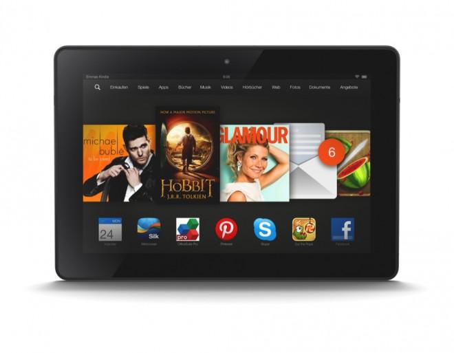 Amazon bringt die beiden Kindle Fire HDX-Tablets ab November auch nach Deutschland. (Foto: Amazon)