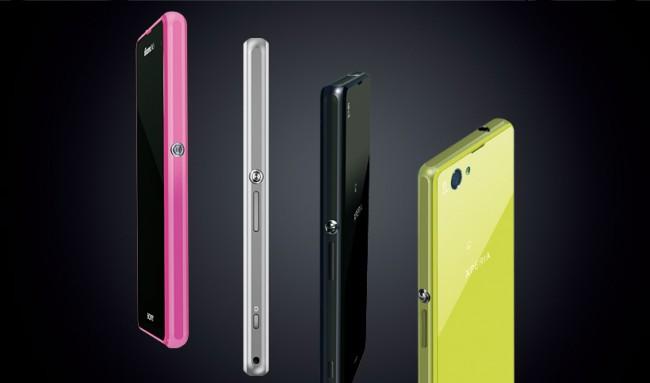 Trotz kleinem Display kommt das Xperia Z1f mit starker Hardware auf den Markt. Foto: Sony.