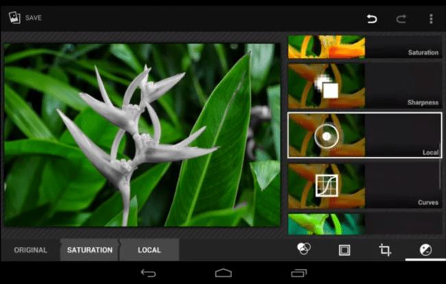 Der Foto Editor von Android 4.4 soll mit zahlreichen Funktionen punkten können. Foto: Youtube.com.