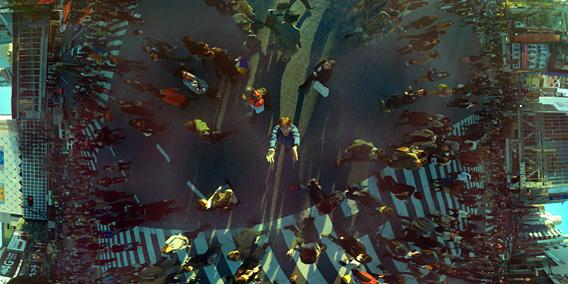 Panoramen lassen sich ganz einfach durch werfen erstellen. Foto: Indiegogo.