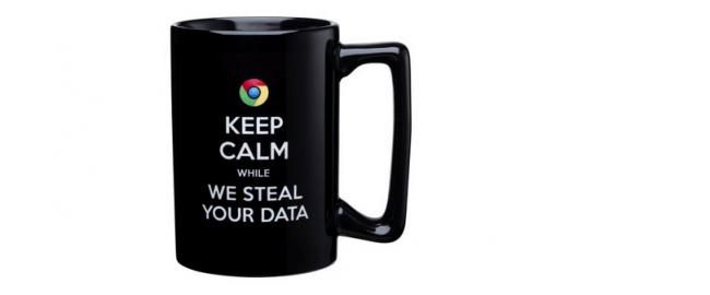 Kaffeetasse mit Google-Hetze: Microsofts Anti-Google-Fanartikel. (Bild: Microsoft Onlinestore/Screenshot)