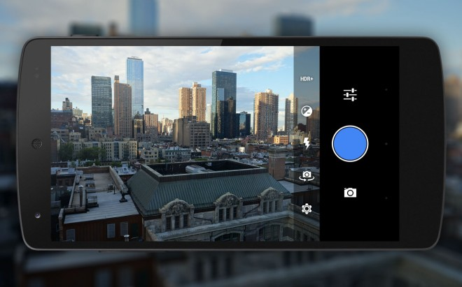 android-mock-camera-settings