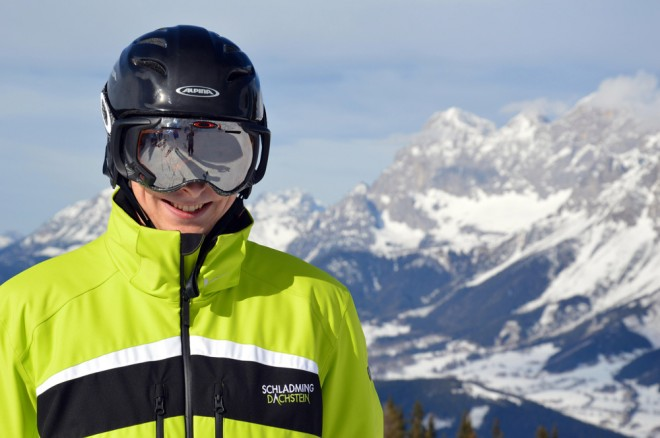 EU-Projekt: In der österreichischen Region Schladming-Dachstein wird derzeit die Software für die intelligente Skibrille der Zukunft getestet (Foto: Schladming-Dachstein Tourismus).