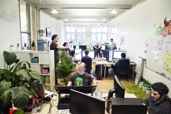 Das Berliner Büro von Wooga beherbergt mittlerweile 280 Mitarbeiter aus über 40 Nationen.