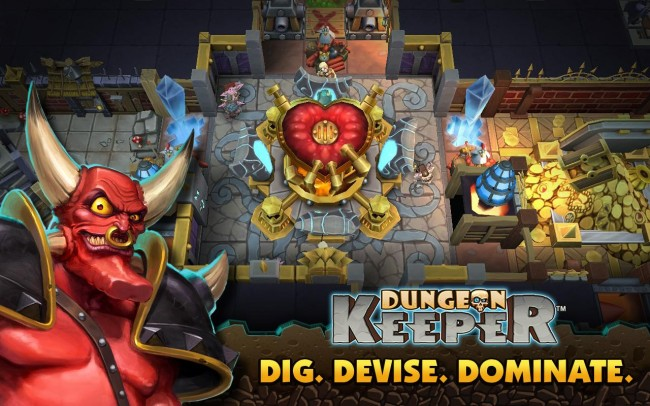 Ab sofort ist Dungeon Keeper im Play Store erhältlich (Bildquelle: EA)