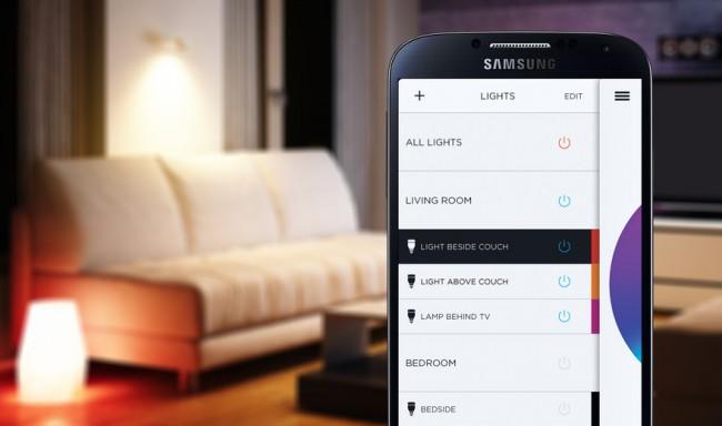 Via App lässt sich die Beleuchtung in deinem Heim nun bequem steuern und programmieren (Foto: Coolstuff)