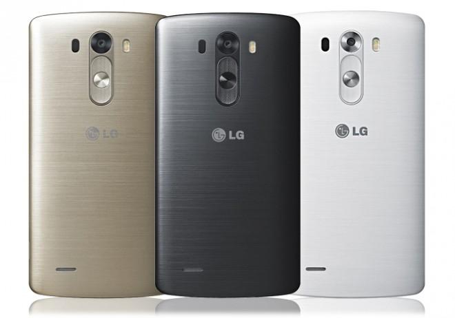 Metallähnlich, aber dennoch Kunststoff: Die Rückseite des LG G3.