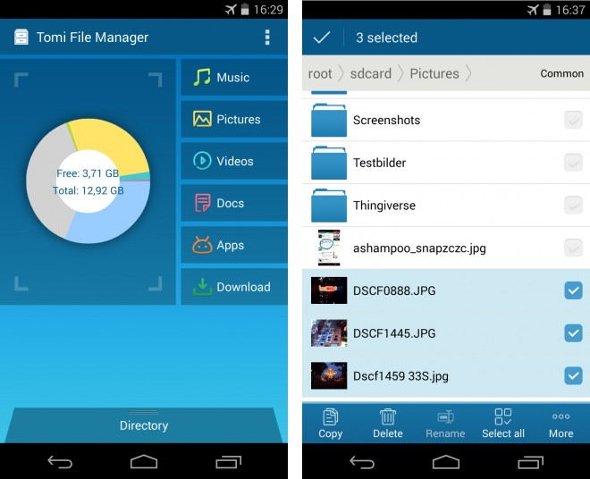 Tomi File Manager - 01