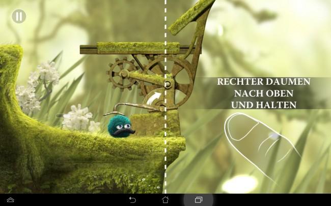 Die Stages sind allesamt liebevoll per Hand gezeichnet, was dem Spiel auf iOS bereits einen Award einbrachte.