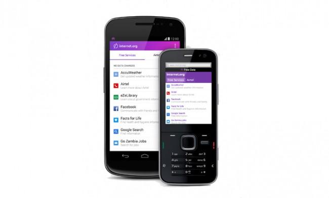 Der Zugang zu diesen Diensten ist in Zambia kostenlos (Foto: internet.org)