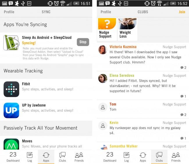 Dank der Synchronisierungs-Funktion lassen sich die Daten aus unterschiedlichen Fitness-Apps zusammenführen.