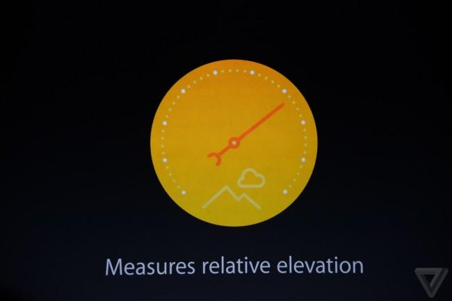 Mit Hilfe des Barometers kann das neue iPhone die Seehöhe bestimmen. (Foto: TheVerge)