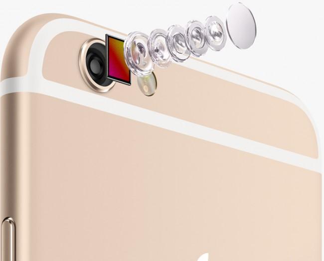 Obwohl die Auflösung nicht verändert wurde, so hat Apple doch einen neuen Sensor verbaut, der für besser Aufnahmen sorgen soll. (Foto: Apple)