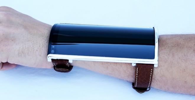 """Richtig schick und dabei so unauffällig: Die """"Portal""""-Smartwatch von Arubixs. (Bild: Indiegogo/Arubixs)"""
