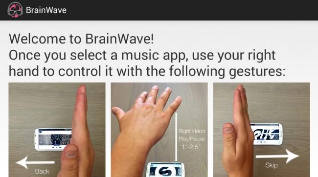 In einem One-Screen-Tutorial wird dir erklärt, wie die in Zukunft Musik steuern kannst.