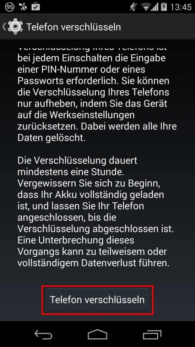 Android-Verschlüsselung-verschlüsseln-go