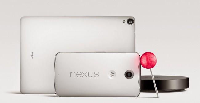 Nicht nur die neuen Geräte, sondern auch die älteren Nexus-Smartphones und Tablets werden mit Android 5.0 Lollipop versorgt.