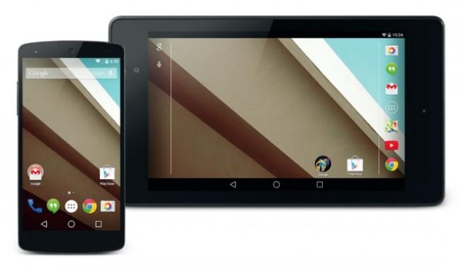 Die neue Android-Version L wird höchstwahrscheinlich schon in wenigen Tagen zusammen mit dem Tablet Nexus 9 der Öffentlichkeit präsentiert. (Bild: Google)
