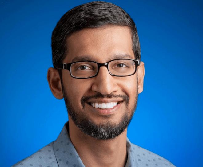 Hat gut Lachen: Sundar Pichai ist der neue starke Mann bei Google.