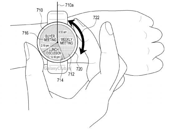 Ring-Interface: Samsung patentiert innovative Smartwatch-Steuerung