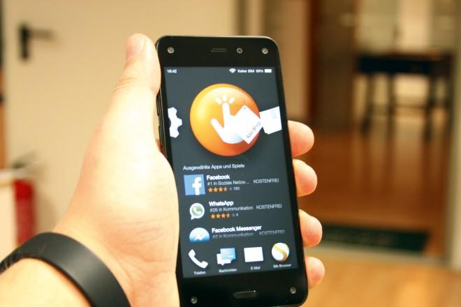 Das Fire Phone war ein Flop – für Amazon aber dennoch kein Grund, die Flinte ins Korn zu werfen.