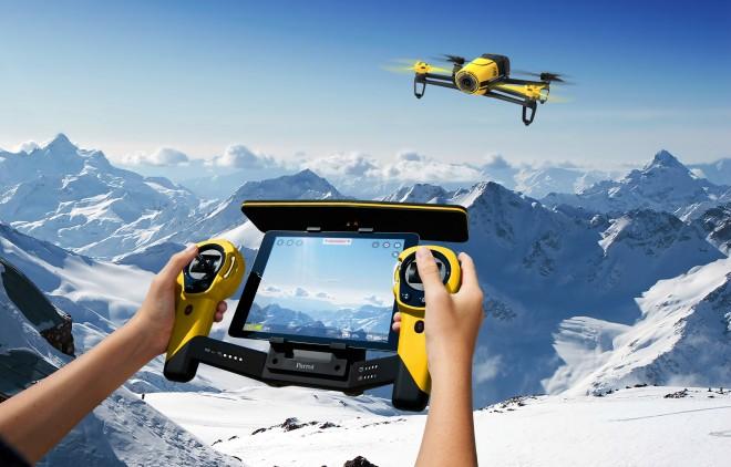 Parrot-Skycontroller_Bebop-Drone_Yellow_main