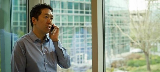 Dr. Andrew Ng hat mit seinen Kollegen bei Baidu Research ein Spracherkennungssystem namens Deep Speech entwickelt, das Sprache auch in Situationen verstehen kann, in denen viele Hintergrundgeräusche vorhanden sind. (Foto: Baidu Research)