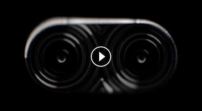 Screenshot aus dem Teaser: Dieses ungewöhnliche Element könnte oberhalb des Kameramoduls angebracht sein. (Bild: Screenshot/ASUS)
