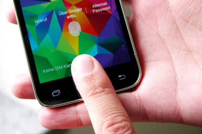 Bisher findet sich der Fingerabdruckscanner bei Samsung-Smartphones noch im Homebutton.