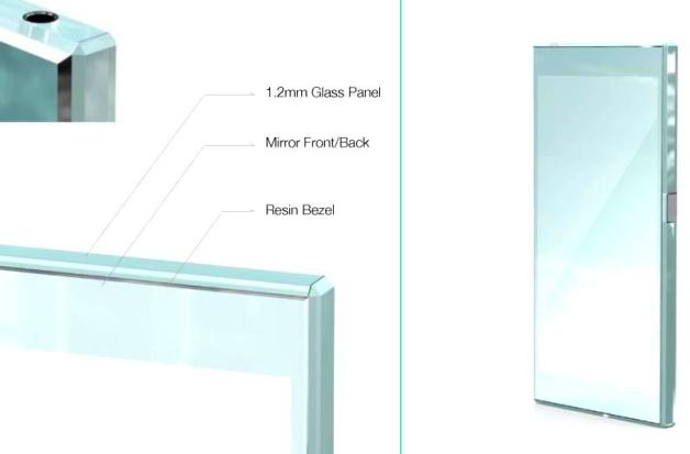 Scharfe Kanten: Dieses Konzept erinnert an das Sharp Aquos Crystal (Bild: Sony)