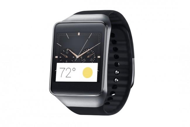 Die Smartwatch Gear Live von Samsung beispielsweise verwendet das Betriebssystem Android Wear. Auch in Zukunft wird Android das dominierende System bei den Smartwatches bleiben. (Foto: Samsung)