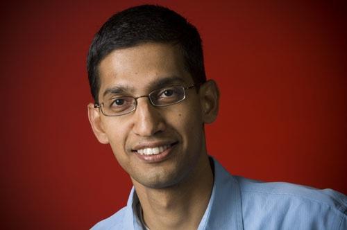 """Sundar Pichai, Senior Vice President bei Google, hat auf dem Mobile World Congress bestätigt, dass Google an einem neuen Bezahlsystem für mobile Geräte arbeitet: """"Android Pay"""". (Foto: Google)"""